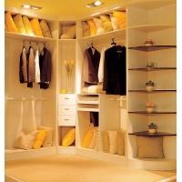 环保板材L型整体衣柜衣帽间定制