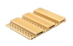 195*15吸音板/装饰板/生态木木塑环保木绿可木/墙面装饰