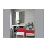 梳妆台、床头柜、床尾凳