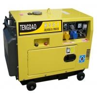 发电机品牌藤岛5KW静音小型柴油发电机组