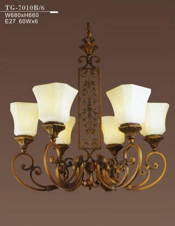 铁艺灯,欧式吊灯,古典铁艺灯