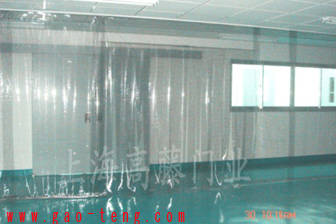 供应各种防静电PVC薄膜 透明PVC门帘
