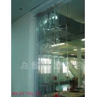 供应防静电超透明平移pvc折叠门