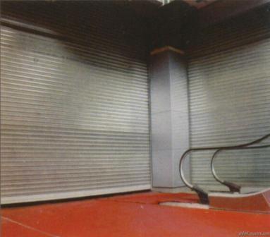上海高藤供应防火卷门、防火卷帘门、钢制防火卷帘