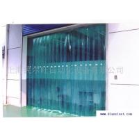 供应折叠式PVC门帘,防静电超透明平移pvc折叠门帘