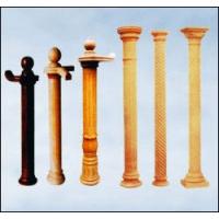 南京红灯木楼梯-柱子扶手2