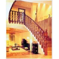 南京红灯木楼梯-直型楼梯3