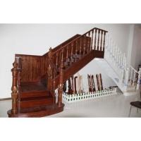 南京红灯木楼梯-L型木楼梯