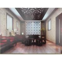 中式风格|陕西西安晨曦布艺窗帘沙发