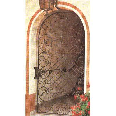 南京联润铁艺装饰工程公司-大门系列-锻钢大门-DD021