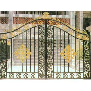 南京联润铁艺装饰工程公司-大门系列-铸铁大门-HF-D068