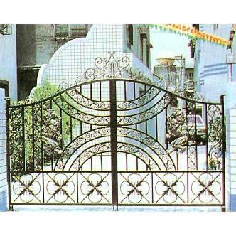 南京联润铁艺装饰工程公司-大门系列-铸铁大门-HF-D069