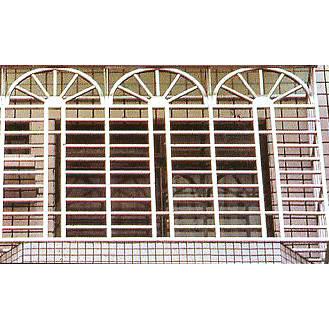 南京联润铁艺装饰工程公司-大门系列-不锈钢门窗-防盗网