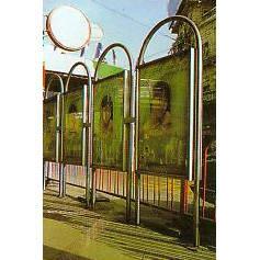 南京联润铁艺装饰工程公司-大门系列-不锈钢门窗-广告牌