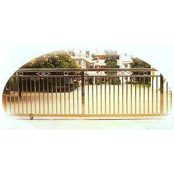 南京联润铁艺装饰工程公司-大门系列-不锈钢门窗-平移门