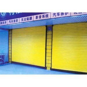 南京联润铁艺装饰工程公司-大门系列-不锈钢门窗-普通卷帘门