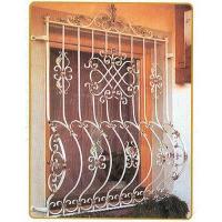南京联润铁艺不锈钢装饰-防盗窗系列-锻钢防盗窗-HF-H00