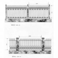 南京联润铁艺不锈钢装饰-围栏系列-锻钢围栏