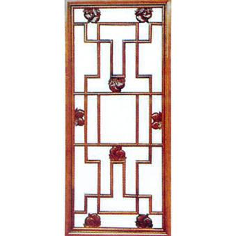 南京复古轩木雕-花窗-100