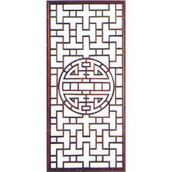南京复古轩木雕-花窗-101