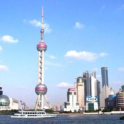 上海东方明珠电视塔不锈钢工程