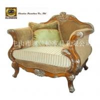 广东纯手工雕花布艺沙发,客厅沙发,组合沙发,实木布艺沙发
