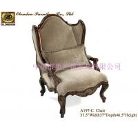实木桦木新古典客厅沙发,广东奥兰顿品牌沙发生产厂家