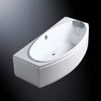 吉事多-绮丽1.7米三裙压克力浴缸