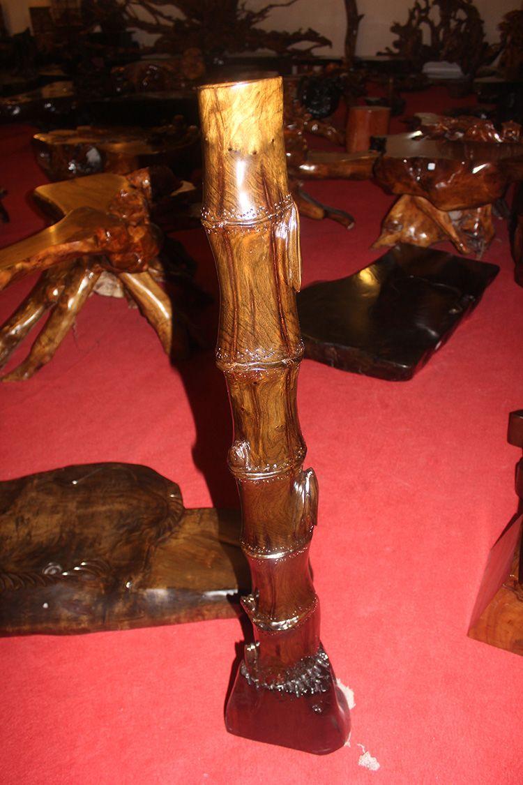 金丝楠木雕刻摆件图片
