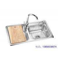 304整体拉伸一体成型不锈钢水槽DL-102