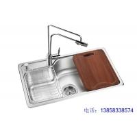 304整体拉伸一体成型不锈钢水槽DL-110