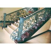南京铁艺楼梯-小康铁艺
