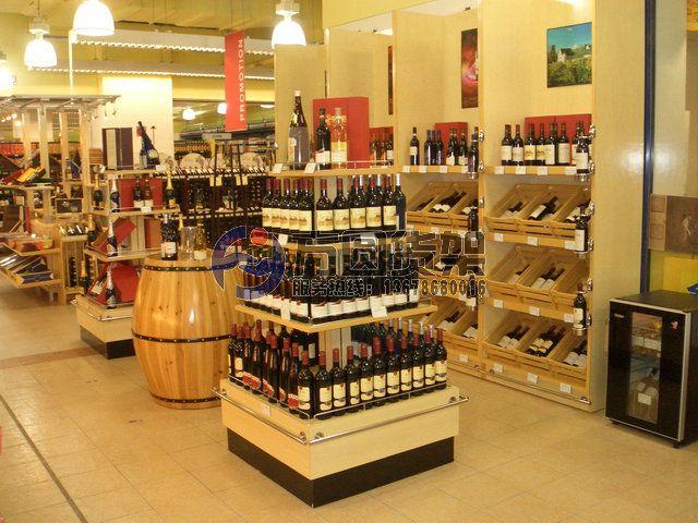 超市木制展柜 木制品设备