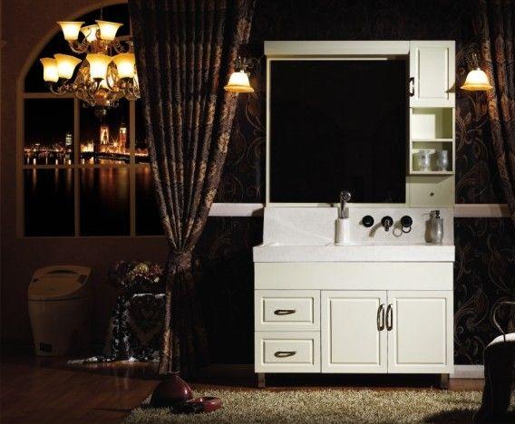 成都青龙国际建材市场-艾仑伯莱-微晶石浴室柜图片