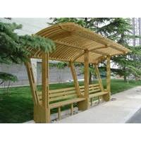 防腐木座椅凳-园林景观防腐木-南京金木亨