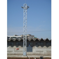 货场21.5米升降式投光灯塔