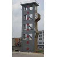五层双窗钢木结构消防训练塔