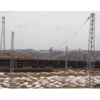 电气化铁路钢支柱/接触网钢支柱/软横跨钢支柱