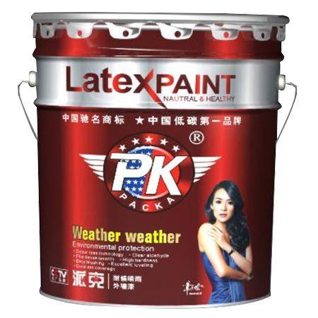 派克耐候晴雨外墙漆