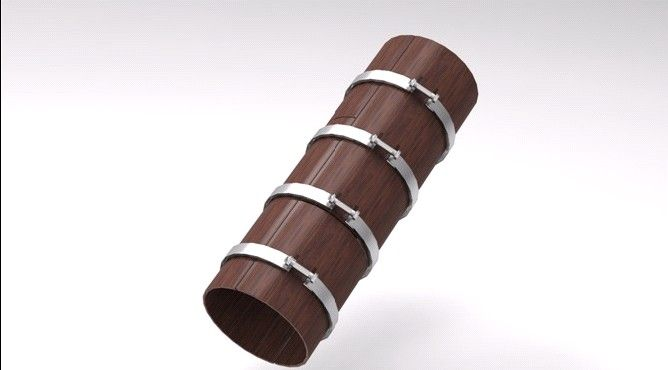 圆柱子模板 - 产品库