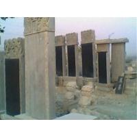 晨光石雕:墓碑,石棺