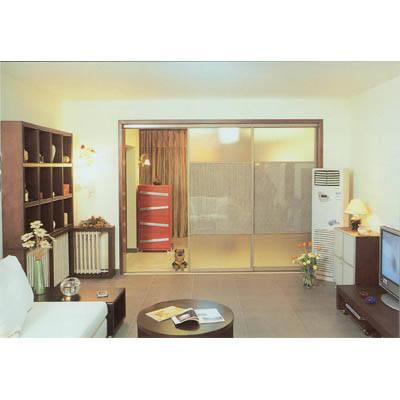 KD隔断门 客厅隔断高清图片