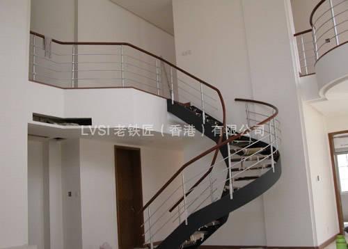 U型楼梯系列 香港老铁匠楼梯