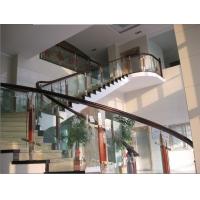 福州长乐扶手栏杆钢化玻璃护栏楼梯