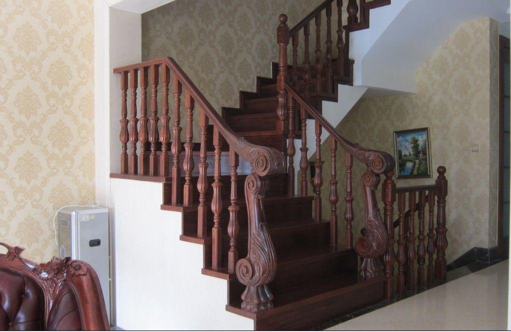 水泥基层实木楼梯 - 产品库