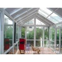 人字形玻璃阳光房 断桥铝门窗阳光房 封阳台封露台平开上悬窗