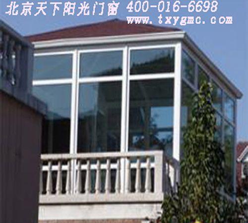 德高瓦阳光房 断桥铝门窗 高档阳光房图片