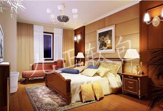 卧室背景墙软包