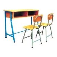 洛阳校用办公家具厂家供应双人课桌椅/学生用课桌/单人课桌椅