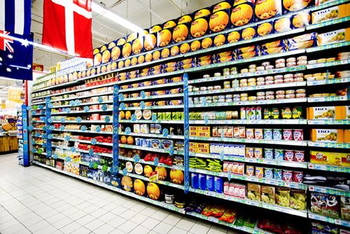 便利店货架,小超市货架摆放的图片,超市货架摆放技巧图片